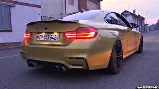BMW M4 F82 with Eisenmann Catback + Akrapovic Catless Downpipes - LOUD Sound