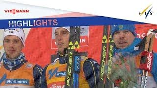Highlights | Halfvarsson king of Lillehammer | FIS Cross Country
