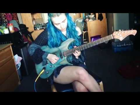 """Anastasia""- Slash Guitar Solo Cover"