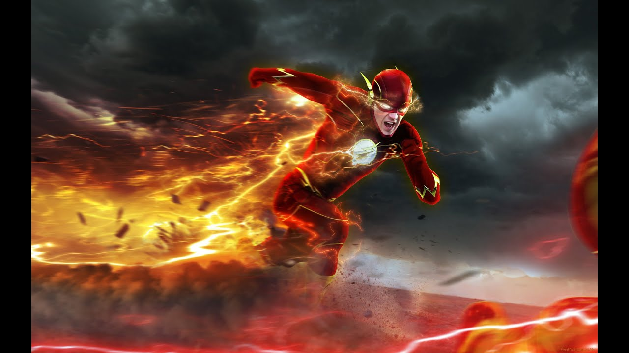 This is a graphic of Lucrative Pictures of the Flash Superhero