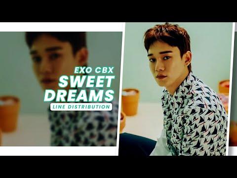 Free Download Exo Cbx • Sweet Dreams | Line Distribution — Request #23 Mp3 dan Mp4