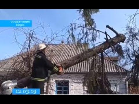 ТРК ВіККА: На Тальнівщині вітряна негода зруйнувала будівлю