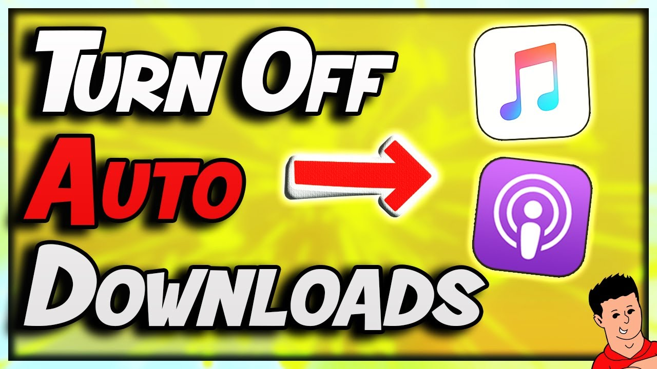 How To Stop Auto Downloads On iTunes for Podcasts and Music On iPhone