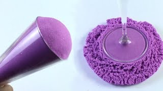 Purple Kinetic Sand Very Satisfying Video Compilation (Kinetic Sand ASMR) thumbnail