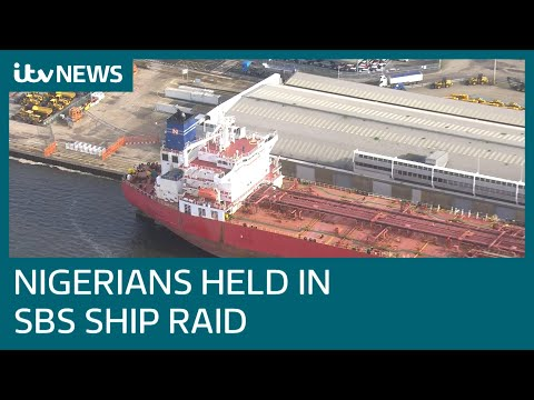 Armed forces storm oil tanker and detain stowaways after 'hijacking' | ITV News