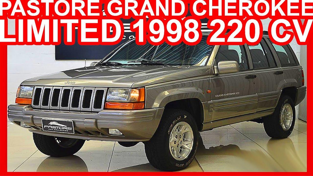 4k pa jeep grand cherokee limited 1998 prata aro 16 at4 4x4