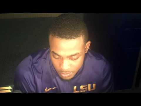 LSU Guard Anthony Hickey SEC Postgame