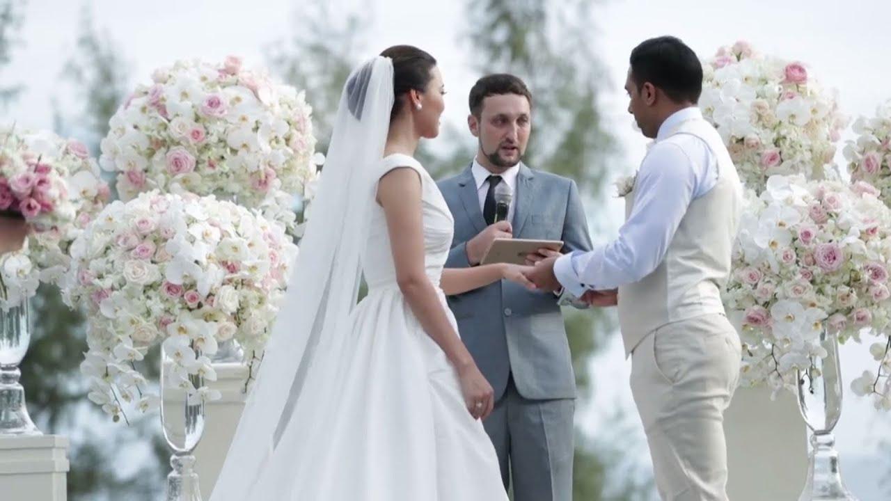 Indian Wedding Phuket - Niel & Nasim - Celebrant Jacob