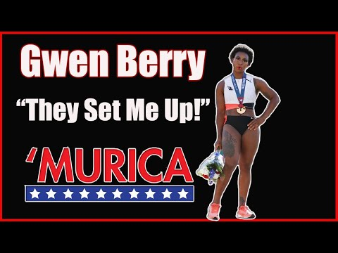 """Gwen Berry Claims She Was """"Set Up"""" When National Anthem Started Playing"""