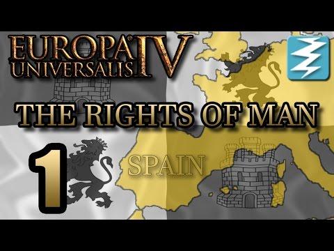 BIRTH OF MILITANT SPAIN [1] The Rights of Man DLC - Europa Universalis 4 EU4 Paradox Interactive