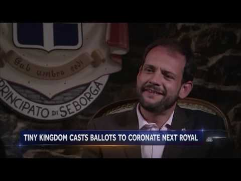 The Principality of Seborga - NBC Nightly News with Lester Holt - 22 aprile 2017