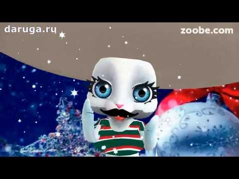 Поздравления с новым годом от Зайца - мексиканца видео новогодние пожелания с наступающим нг - Прикольное видео онлайн