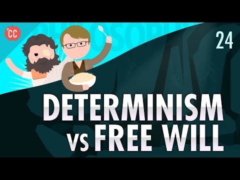 Thumbnail: Determinism vs Free Will: Crash Course Philosophy #24