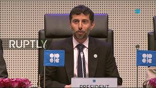 LIVE: 4th OPEC and non-OPEC Ministerial Meeting in Vienna: opening session and press conference