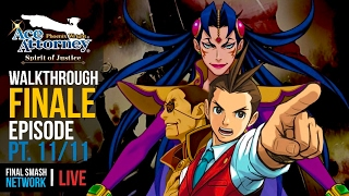 Phoenix Wright: Ace Attorney - Spirit of Justice | Walkthrough Part 11 | Case 5 FINAL