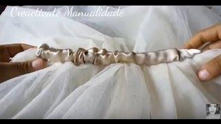 Como hacer un tutu para niñas/HAND MADE/CRAFTS/CREACTIVATE MANUALIDADES