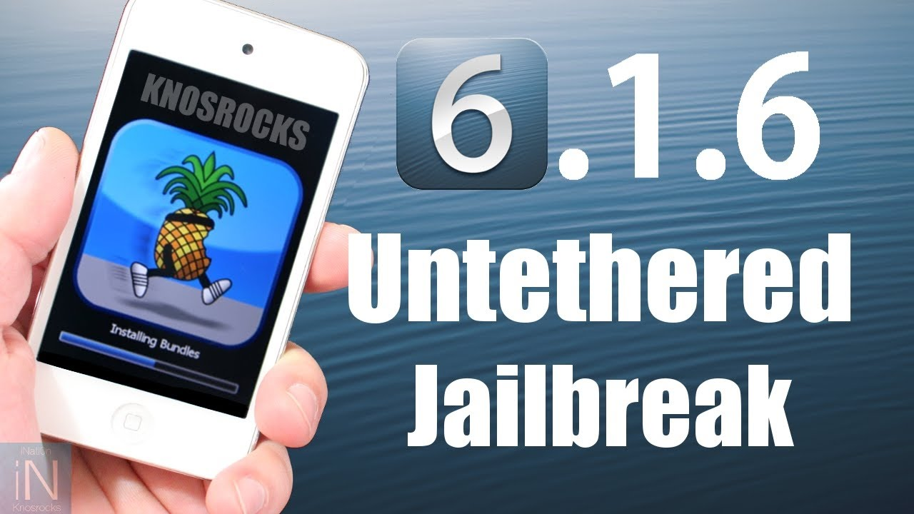 How to jailbreak ipod touch 4g ios 6.1.3 — pic 1