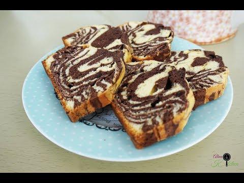 Chec pufos cu cacao | Chec zebra | Alina in the Kitchen