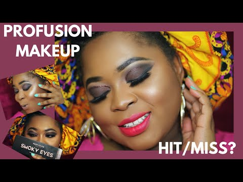 TESTING PROFUSION MAKEUP| BUDGET FRIENDLY| HIT OR MISS?