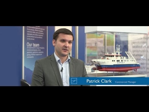 Osiris Projects Commercial Manager Patrick Clark speaking at Offshore Europe