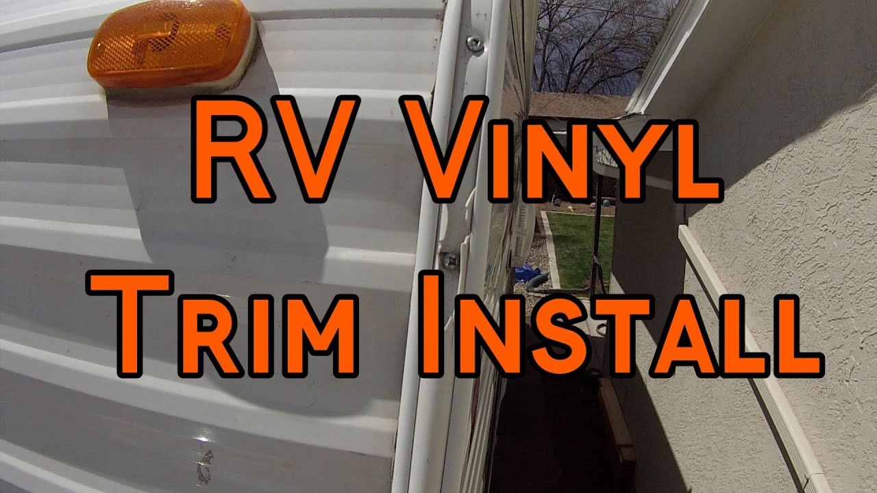 Camco Vinyl Trim Insert Installation Youtube