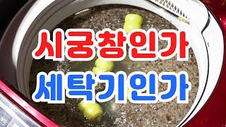 시궁창보다 더러운 세탁기 청소 한방에 끝내는 방법