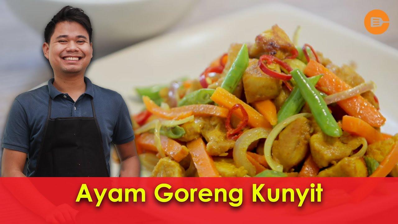 Resepi Ayam Goreng Kunyit Icookasia Try Masak Youtube