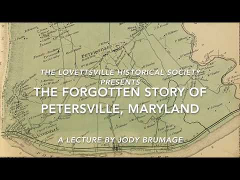 The Forgotten Story Of Petersville, Maryland (2016)