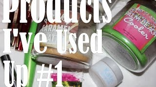 Products Ive Used Up #1 and Mini Target Haul! Thumbnail