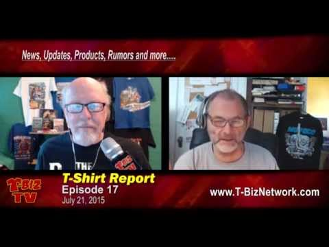 T-Shirt Report Episode 17 Featuring Scott Fresener and Richard Greaves