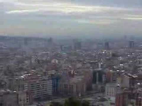 Barcelona Panorama from Tres Cruces