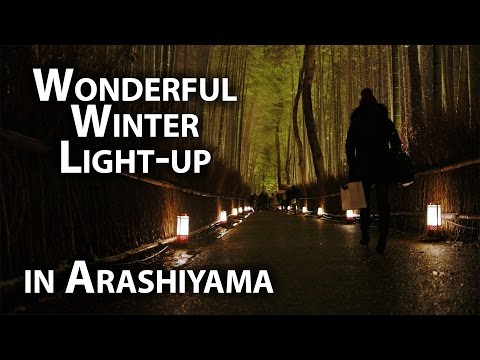 Kyoto Event: Beautiful Illumination in Arashiyama (Hanatouro