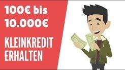KLEINKREDIT – Schnell Und Unkompliziert Geld Leihen! | BONEXO