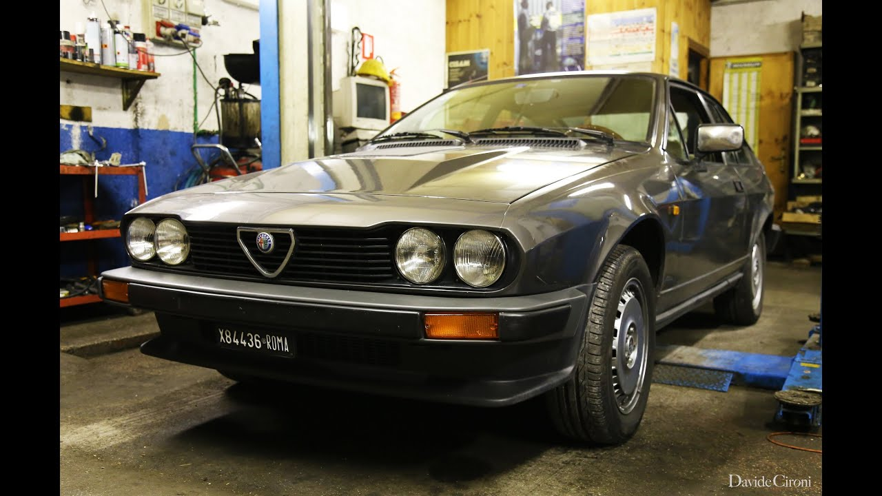 alfa romeo alfetta gtv6 2 5 davide cironi drive experience subs youtube. Black Bedroom Furniture Sets. Home Design Ideas