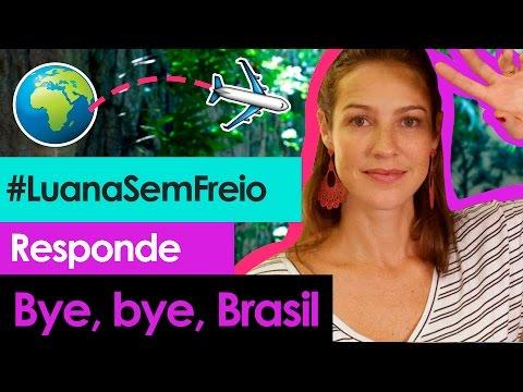 🛫 MORAR FORA DO PAÍS - Luana Responde #10