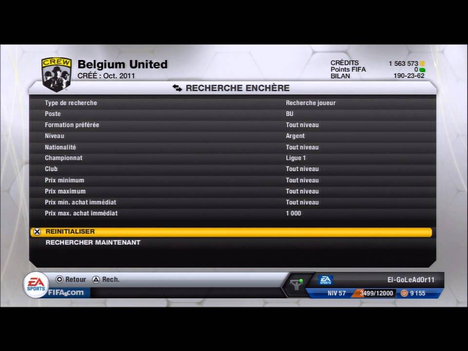 fifa 13 ultimate team comment avoir du cr dit tuto achat revente sp ciale ligue 1 youtube. Black Bedroom Furniture Sets. Home Design Ideas