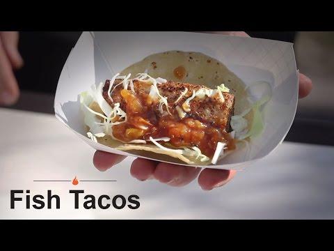 Pellet Grill Fish Tacos Recipe