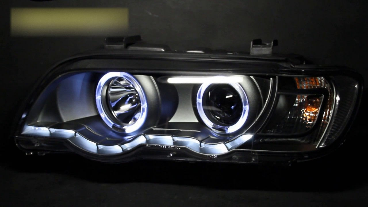 5 53 tuning headlights for bmw x5. Black Bedroom Furniture Sets. Home Design Ideas