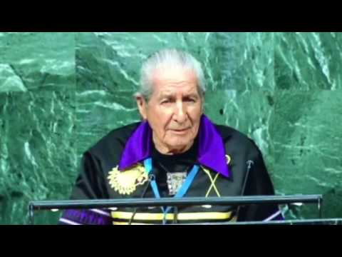Oren Lyons Address at the UN General Assembly
