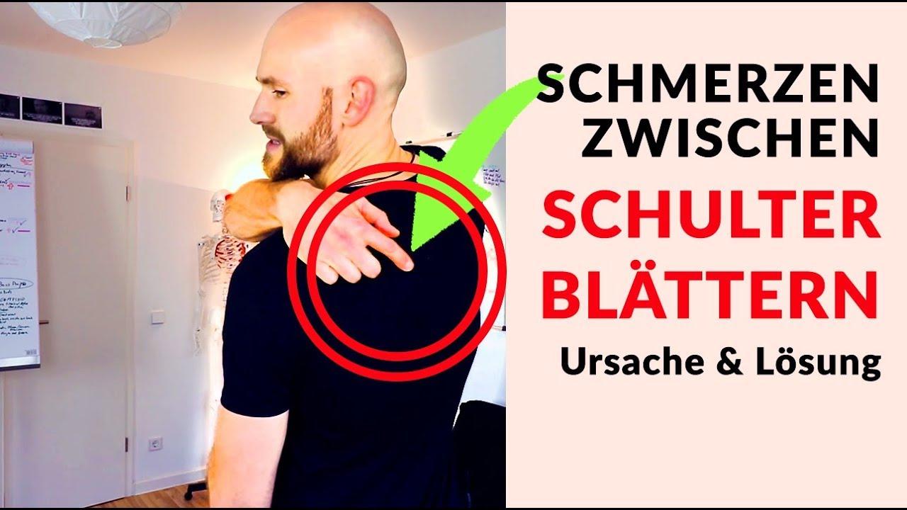 Schmerzen Schulterblätter