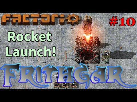 Let's Play Factorio #10: Rocket Launch!