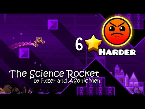 Geometry Dash - The Science Rocket by Etzer and ASonicMen (HD)