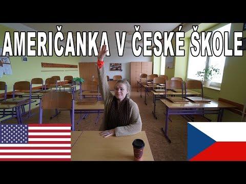 Amie nastupuje do české střední školy