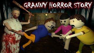 Android Game Granny Horror Story (Animated Cartoon For Kids) Make Joke Horror