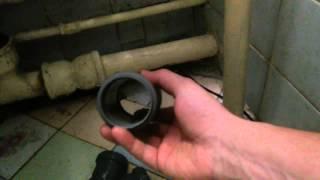 Ремонт канализации.Переход с чугуна на пластик.(Я прошу прощения за качество видео, надеюсь оно было для вас полезным., 2015-02-27T21:36:38.000Z)