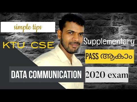 DATA COMMUNICATION  Exam Tips | KTU  exam tips s5 cs supplementary Malayalam | AJU Computer Science