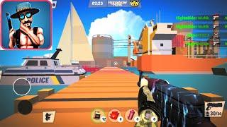 Mini Shooters: Battleground - OFFLINE MODE (Survival + Team Battle) - iOS Android - Gameplay
