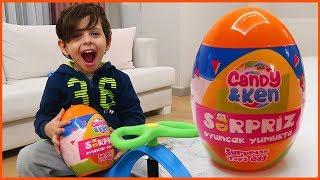 Odanın Ortasındaki Kutudan Dev Sürpriz Yumurta Çıktı   Sürpriz Yumurtalar   Prens Yankı