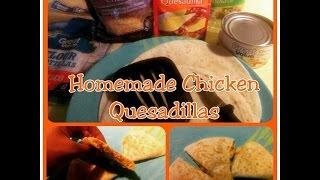 Tutorial: Chicken Quesadilla