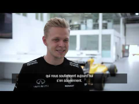 Behind the scenes with Magnussen at Enstone // Dans les coulisses d